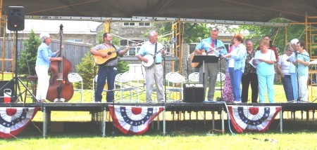 Bluegrass Band Shell